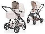 ABC Design Kinderwagen Condor 4 mit abnehmbarer Babytragetasche, Farbe: Camel (61288704)